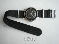 Sicura Plongeur Grand 42 Mm. Breitling Nouveau Vieux Stock Montre-bracelet Vintage Pour Hommes