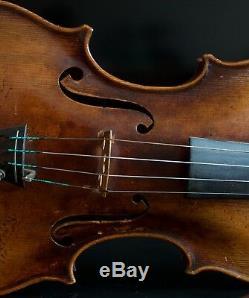 Très Vieux Violon Étiqueté Vintage Tomaso Eberle 1774 Geige