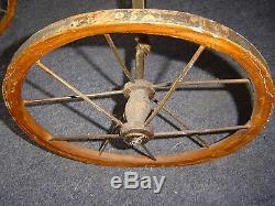 Tricycle Ancienne Qualité Musée Vintage Antique Le Plus Ancien Que Je Aie Jamais Vu 3 Trois Roues