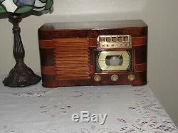Tube Ancien Antique Bois Vintage Modèle Zenith Radio 6s527 Super Sympa