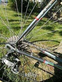 Vélo De Course Cadre Cru Columbus Italien Campagnolo Vieux Vélo