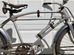 Vintage 1936,1937 Monark Silver King M1 Deluxe Vélo, Antique Vieux Vélo