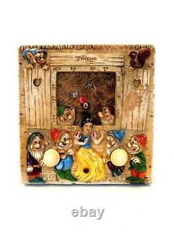 Vintage 30s Antique Old Walt Disney Antique Blanche-neige - The 7 Dwarfs Tube Radio