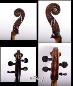 Vintage / Antique Rare 4/4 Maître De Violon Gagliano Familly 1744video