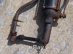 Vintage / Antique Valvoline Oil Co. Gas Station Service Old Auto Lubester Pompe