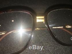 Vintage Cazal 620 Brown Lunettes Et Frame Or. (nouveau Stock Ancien)