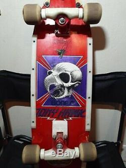 Vintage Tony Hawk Powell Peralta 1983 Old School Complète De Planche À Roulettes Originale 10
