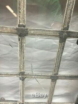 Vtg Industrielle En Acier 16x20 Battant 9 Lite Fenêtre Old Factory Entrepôt 201-19j